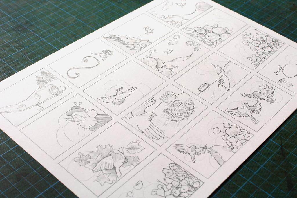 Storyboard Rotfühlen